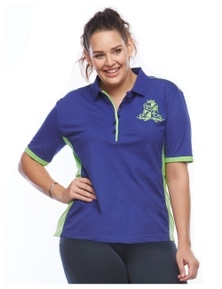 Curvy Chic Sports EQ Polo