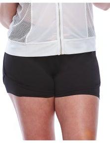 Curvy Chic Sports Smile Lite n Layer Shorts