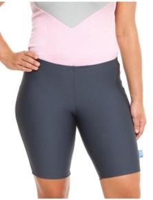 Curvy Chic Sports Sculpt Bike Shorts - Charcoal