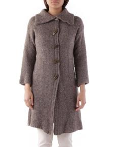 Cristina Gavioli Women's Coat In Brown