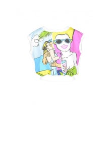 Boutique Moschino Women's Sweatshirt In Multicolour