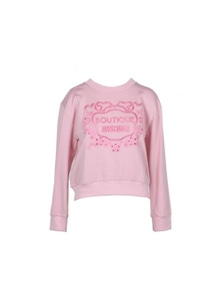 Boutique Moschino Women's Sweatshirt In Pink