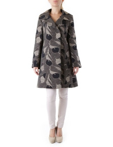 Cristina Gavioli Women's Coat In Black