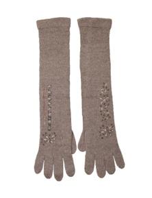 Ermanno Scervino Women's Gloves In Brown