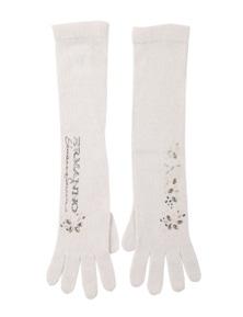 Ermanno Scervino Women's Gloves In White