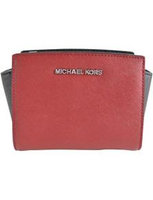 Michael Kors Selma Mini Leather Messenger Bag