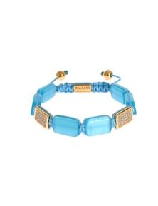 Nialaya CZ Opal 18K Gold 925 Bracelet