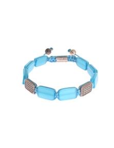 Nialaya CZ Opal 925 Silver Bracelet