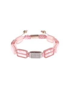 Nialaya CZ Quartz 925 Silver Bracelet