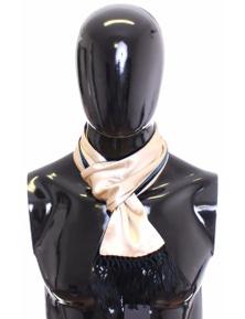 Dolce & Gabbana Scarf Men's Beige Silk