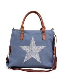 Sassy Duck Star Power Canvas Bag