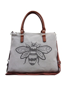 Sassy Duck Queen Bee Canvas Bag