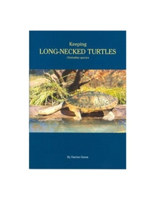 Urs Keeping Long-Necked Turtles Book By Darren Green