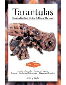 Urs Tarantulas General Health & Maintenance Book By Jerry G Walls