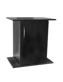 Urs Laminated Mdf Cabinet Home Decor Flat Packed Black Medium