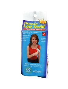 Aussie Lint Roller Pet Hair Remover Refill Medium