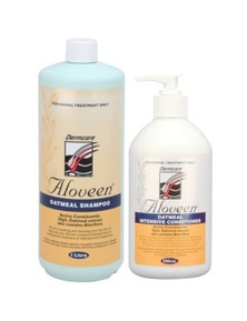 Aloveen Oatmeal Dermcare Sensitive Skin Dog/Cat Shampoo 1L + Conditioner 500ml