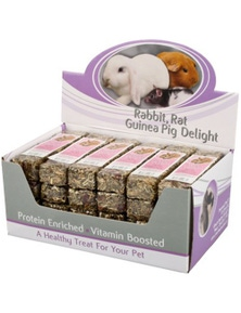Passwell Rabbit Delights High Fibre Treat Bar 40g 24/Box
