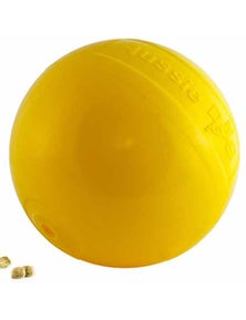 Aussie Dog Tucker Ball Rattle Treat Food Dispenser Pet Toy 10-30kg Medium 150mm