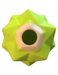 Aussie Dog Monster Treat Release Toy Duralite Tough Chew Yellow Green