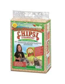 Chipsi Strawberry Organic Bedding Pet Litter 3.2kg