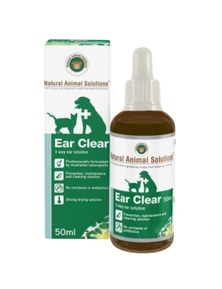 Nas Ear Clear Animal Ear Wash 50ml