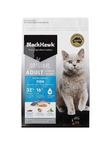 Black Hawk Holistic Adult Cat Food Fish Salmon 3kg