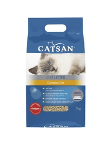 Catsan Ultra Instant Absorption Clumping Cat Clay Odour Control 2 x 7kg