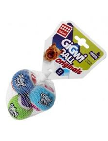 Gigwi Ball Originals Dog Toy Tennis Ball XS 3 Pack