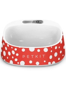 Petkit Smart Digital Pet Antibacterial Bowl Scale Polka Dot Print