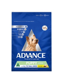 Advance Puppy Growth Toy Small Breed Dry Dog Food Chicken 8kg