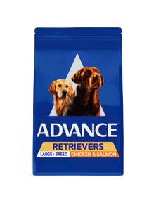 Advance Retriever Large Breed Dry Dog Food Chicken & Salmon 13kg