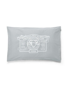 Snooza Organic Anti Allergy Dog Bed Futon Ash Grey Original Medium