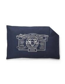 Snooza Organic Anti Allergy Dog Bed Futon Cover Blue Original Medium