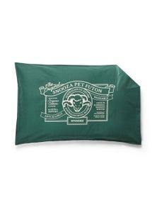 Snooza Organic Anti Allergy Dog Bed Futon Cover Green Original Medium