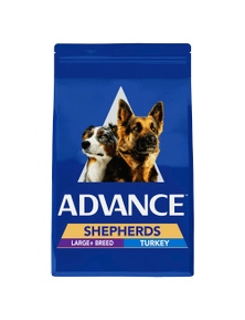 Advance Shepherd Large Breed Dry Dog Food Turkey 7kg