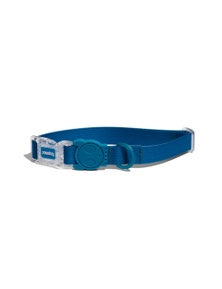 Zee Dog Neopro Adjustable Soft Dog Collar Blue Medium