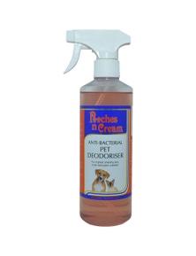 Equinade Glow Silk Pooches N Cream Deodoriser Pooches Dog 500ml