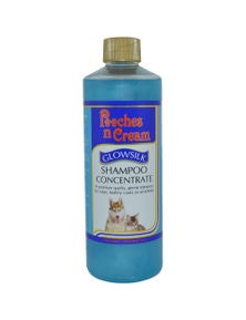 Pooches n Cream Glowsilk Shampoo Concentrate Skin Coat Care Dog 250ml