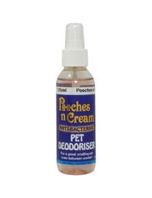 Equinade Pooches n Cream Pet Deodoriser Pooches Pet Grooming 125ml