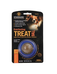 Starmark Everlasting Treat Ball Dog Chew Toy Small