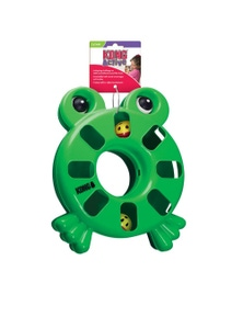 KONG Cat Active Puzzle Toy Frog