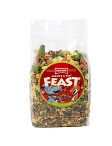 Peters Mouse & Rat Feast Vegetarian Food Chew 6 x 800g