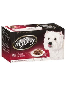 My Dog Small Adult Food Beef & Liver Dog Food 100g - 2 Size