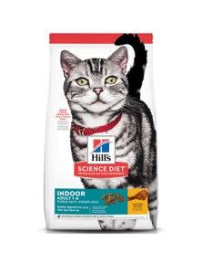Hills Adult 1+ Indoor Dry Cat Food Chicken - 2 Sizes