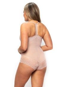 LaSculpte Women's Light Lace Control Bodysuit