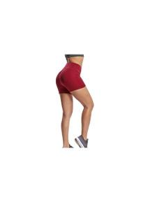 High Waisted Scrunch Bum Workout Bike Shorts