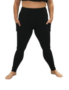 Plus Size Active Leggings with pockets