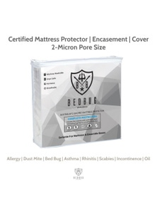 Mattress Protector, Anti Allergy (130cm x 69cm AUS)