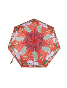 IS Gift Foldable Umbrella - Red Leaves